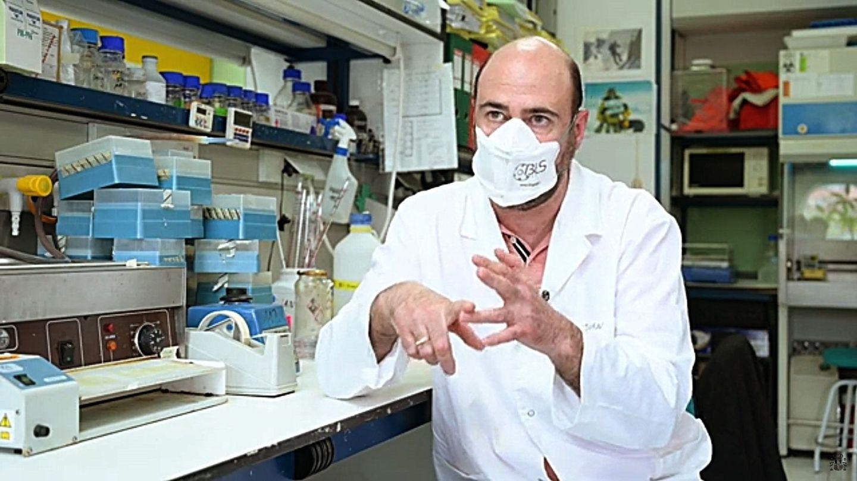 Juan García Arriaza. (EFE)