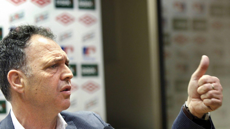 Caparrós, en su etapa en el Athletic. (EFE)