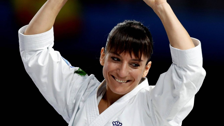 Sandra Sánchez, la reina del kárate a la que veían muy mayor cuando empezó a ganar