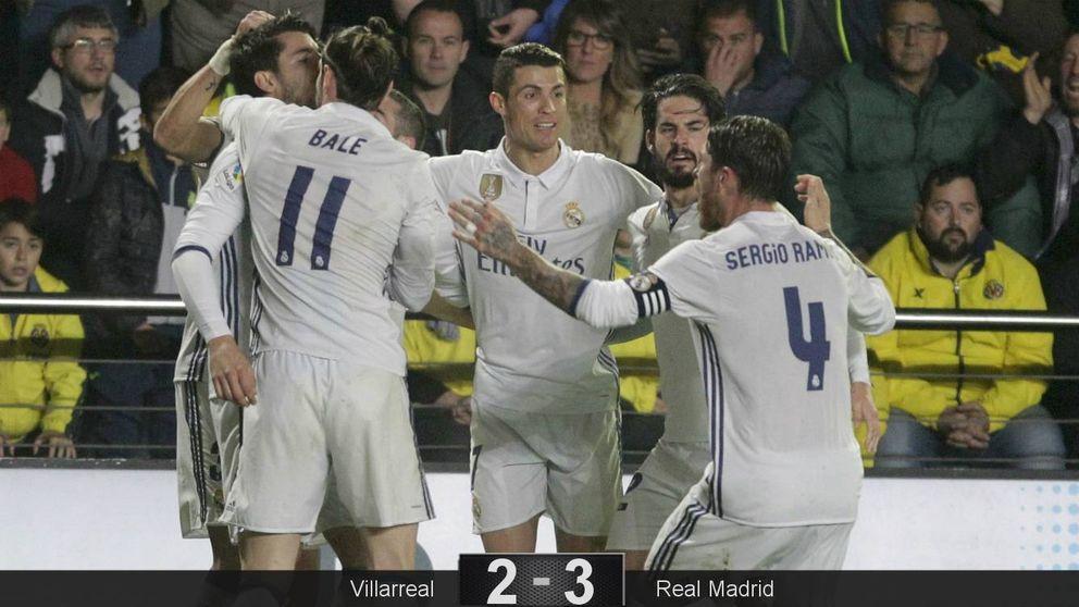 El genio de Isco y un penalti polémico resucitan al Real Madrid en Villarreal