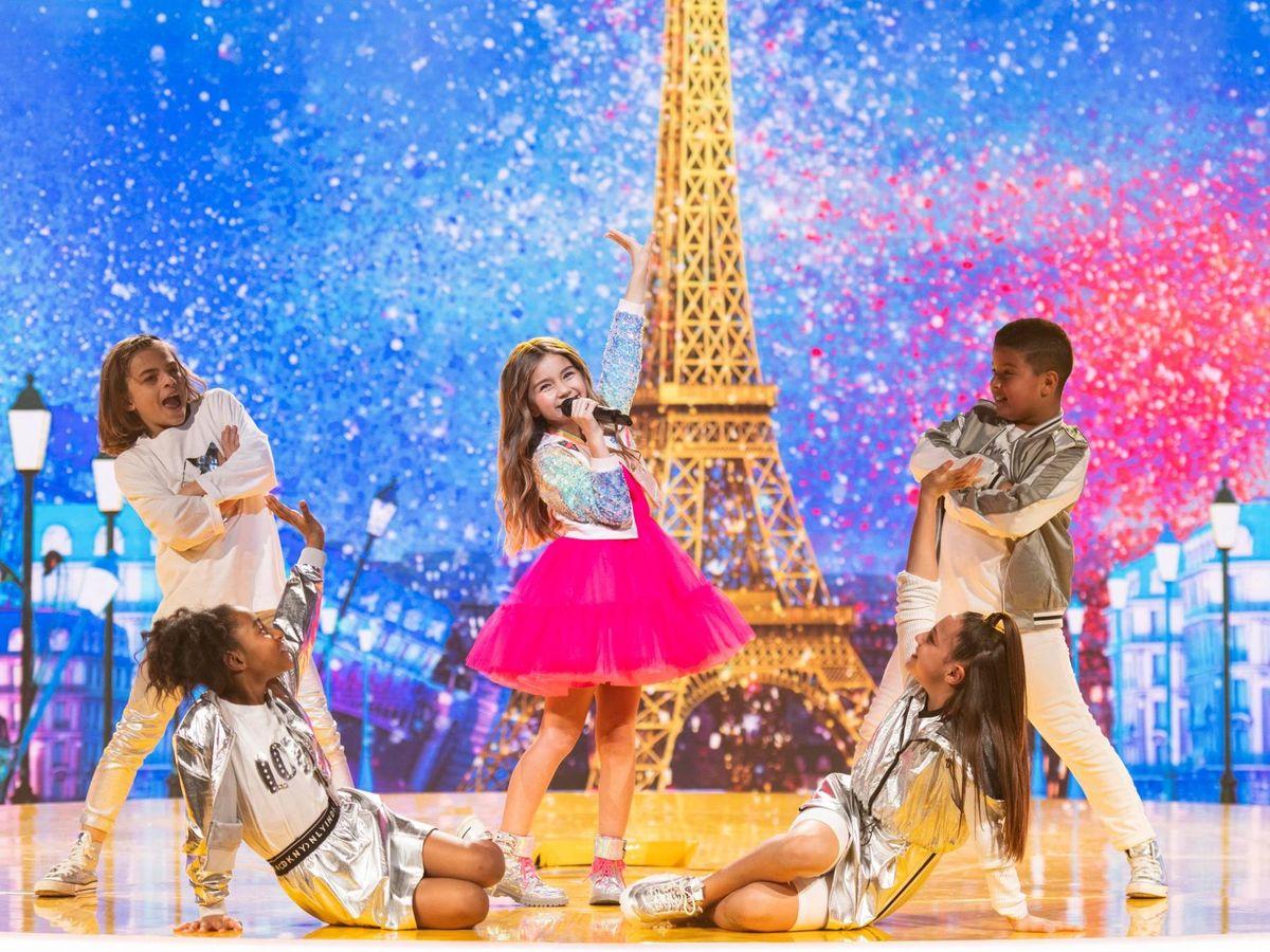 Foto: Valentina, en 'Eurovisión junior 2020'. (RTVE).