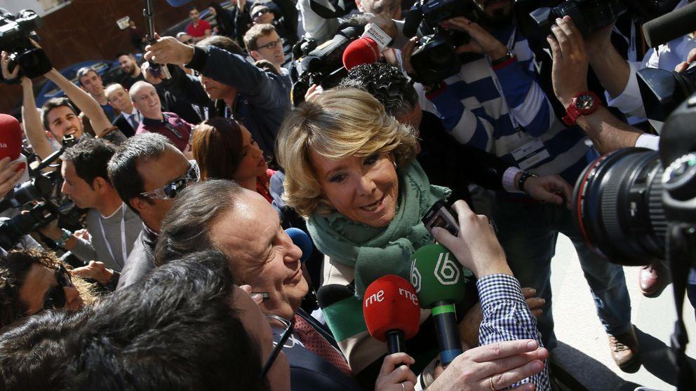 Aguirre defiende la dimisión de Moreno tras el batacazo electoral