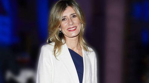 Begoña Gómez reaparece tras el covid con look de impacto en la MBFW