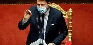 Post de Conte presenta su dimisión y empiezan consultas para un nuevo Gobierno en Italia