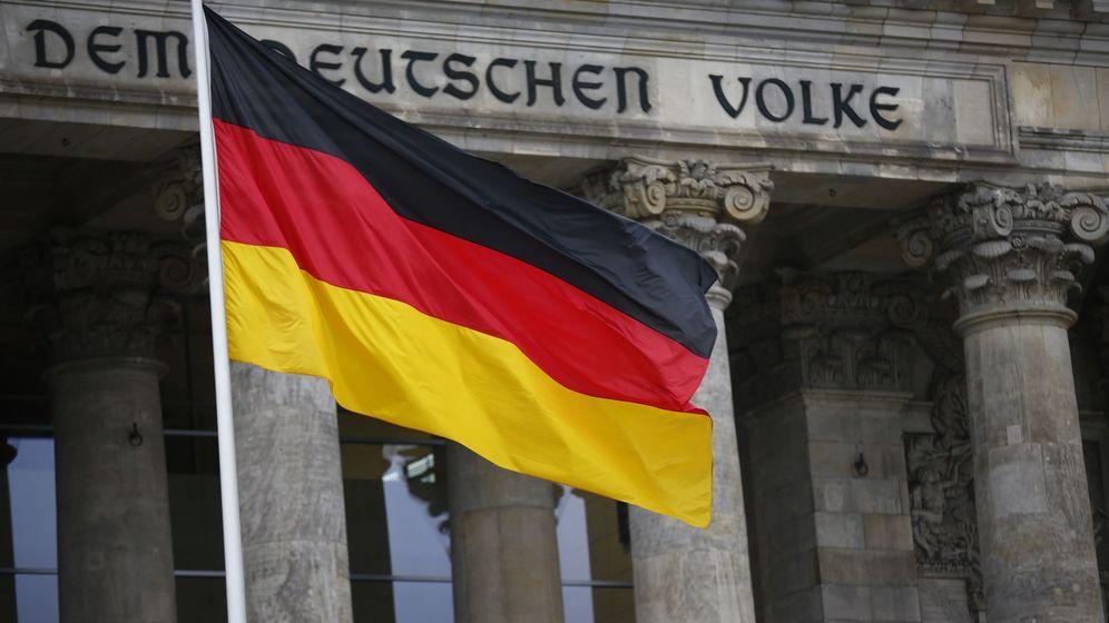 Foto: Una bandera alemana. (Reuters)