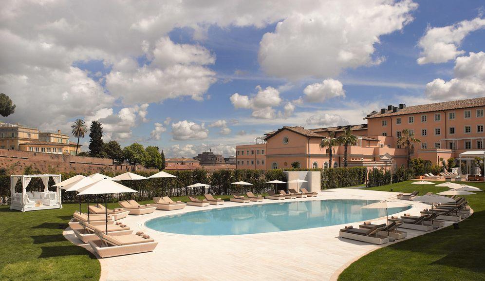 Foto: El hotel Gran Meliá de Roma