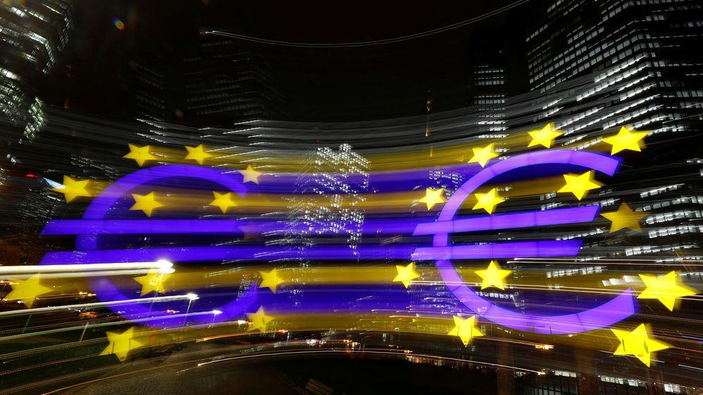 Foto: El símbolo del euro. (Reuters)