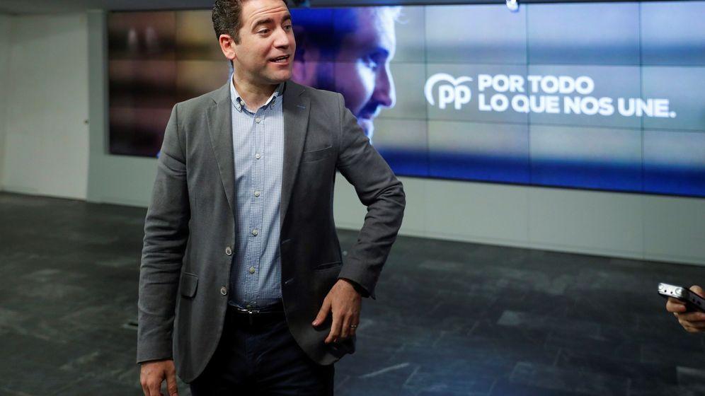 Foto: El secretario general de PP, Teodoro García Egea. (EFE)