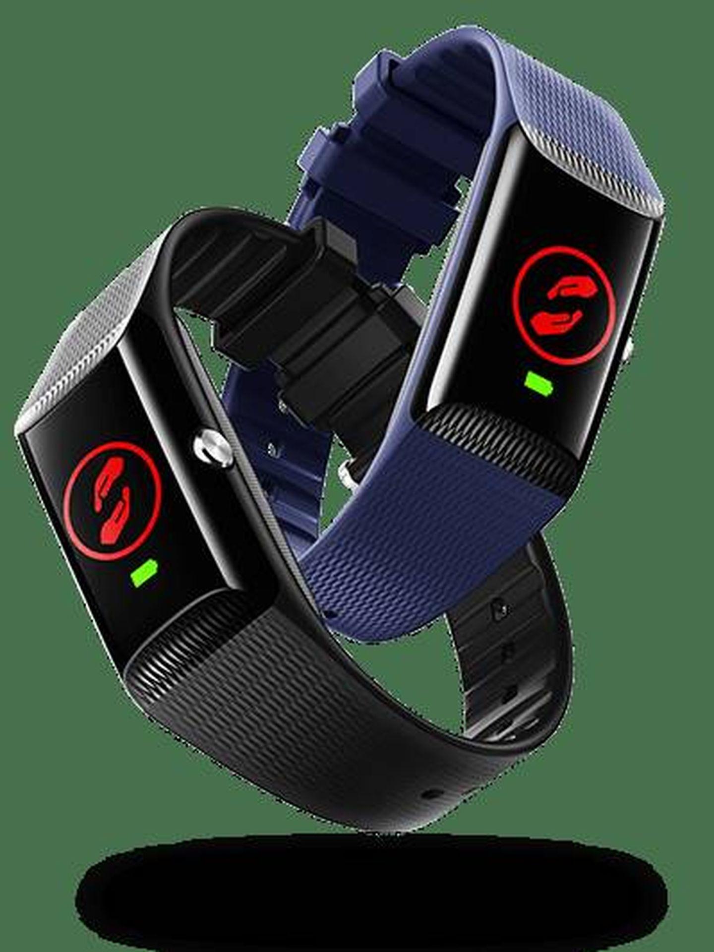 La V-SOS Band forma parte de la gama de productos V by Vodafone que también cuenta con relojes inteligentes para niños. (Vodafone)