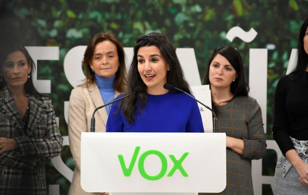 Foto: La portavoz de Vox en el Parlamento madrileño, Rocío Monasterio. (EFE)
