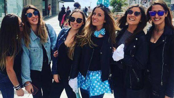 Foto: Marta Castro celebra su despedida junto a Laura Matamoros y otras amigas (Instagram)