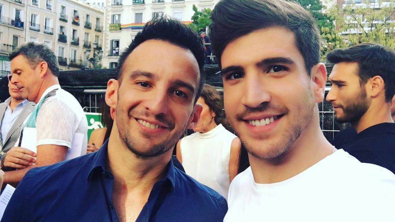 Amenábar y David Blanco en una imagen de archivo. (Instagram)