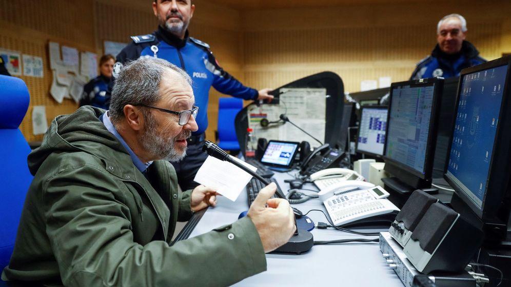 Foto: El concejal Javier Barbero