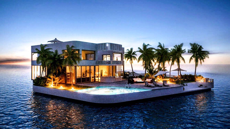 lifestyle casas flotantes el lujo de vivir sobre el agua
