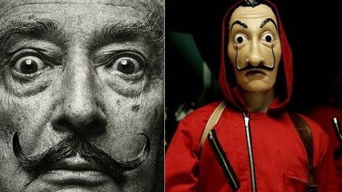 Dalí contra 'La casa de papel': la Fundación investiga las máscaras con la cara del pintor