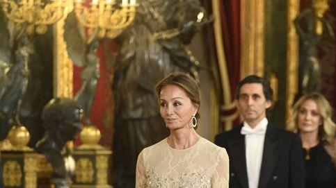 Isabel Preysler, fiel a su estilo en la cena de gala en honoral presidente de Perú