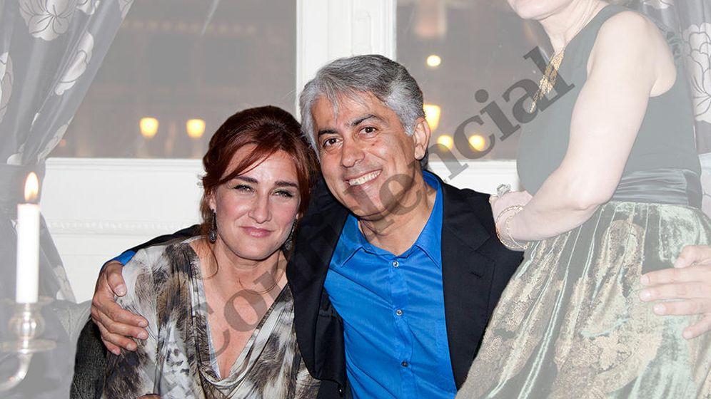 Foto:  Massoud Zandi junto a Cristina Salvador, la administradora de sus sociedades. (EC)