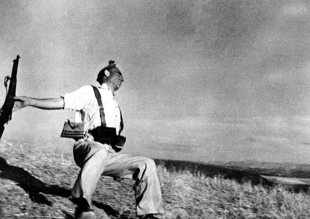 Foto: 'Muerte de un miliciano', tomada el 5 de septiembre de 1936, por Robert Capa. (ICP)