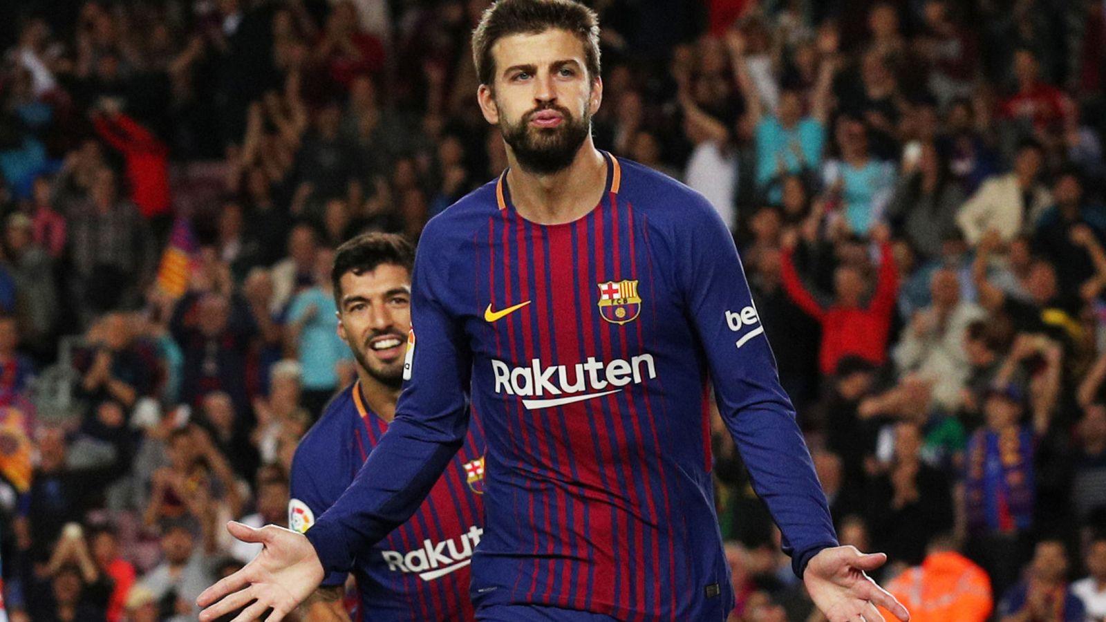 Foto: El FC Barcelona anunció este jueves la renovación de Piqué hasta 2022. (Reuters)