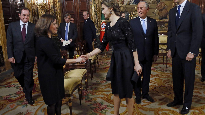 Foto: Los Reyes ofrecen una cena en honor del nuevo presidente de Portugal