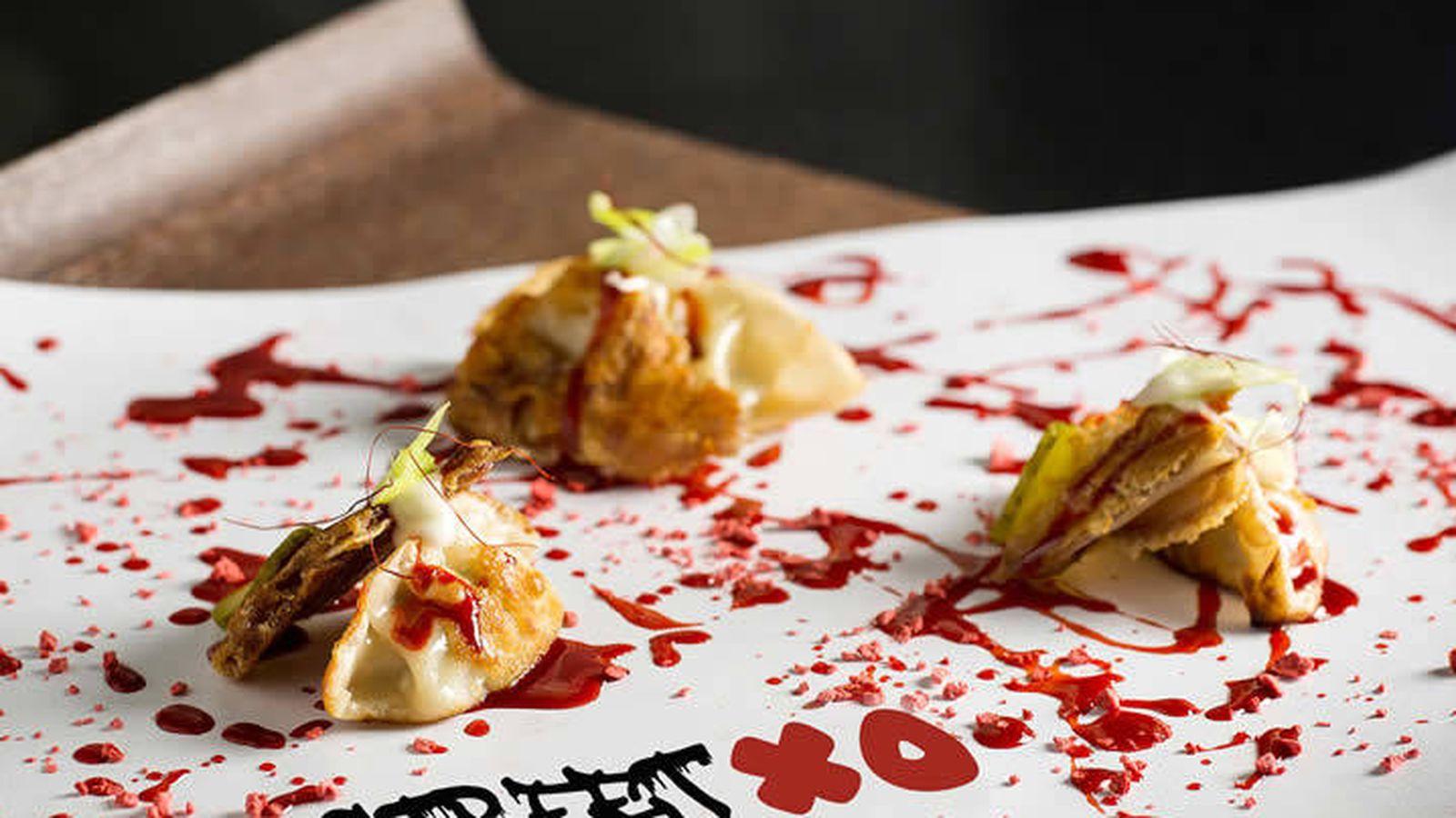 Foto: Dumpling pequinés de Streetxo. (Web de Streetxo Londres)