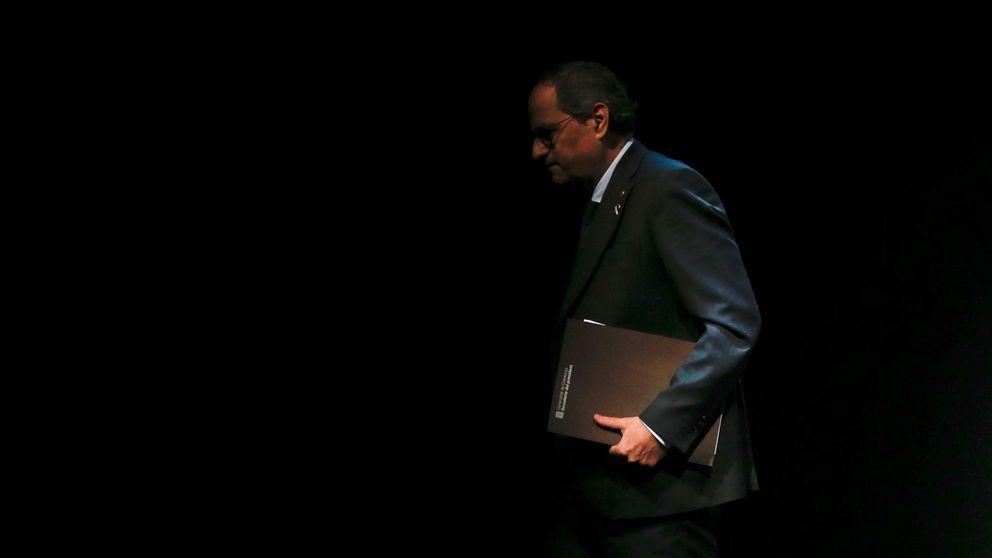 Torra fuerza la ley para seguir de 'president' sin acta como Gallardón tras el 'tamayazo'