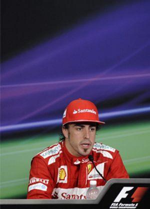 Alonso piensa en el futuro y no se plantea un objetivo en China