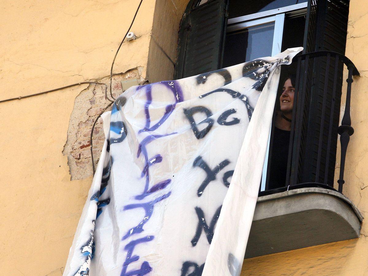 Foto: El matiz en la ley antideshaucios que da cobertura a los okupas en caso de delito.