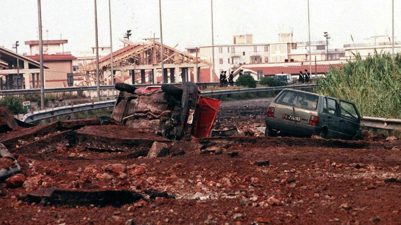Asesinato del juez Falcone en 1992. (EFE)