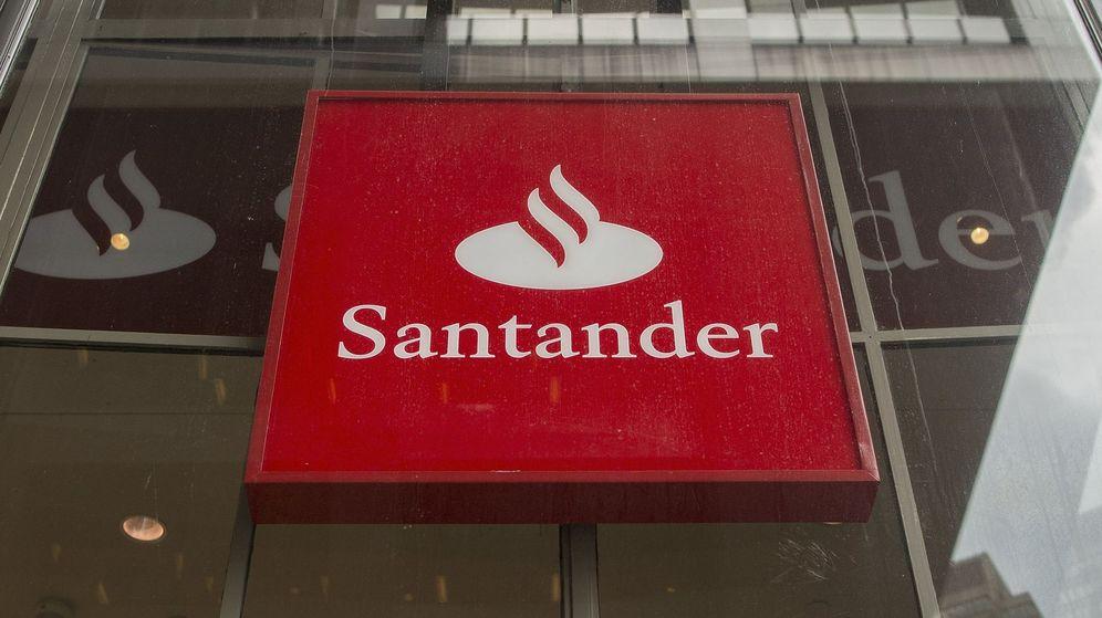Foto: Vista de una sede del Banco Santander. (EFE)