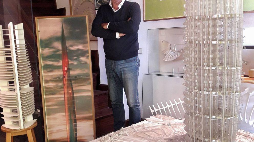 Este arquitecto quiere construir una torre en la que cabría todo Cádiz