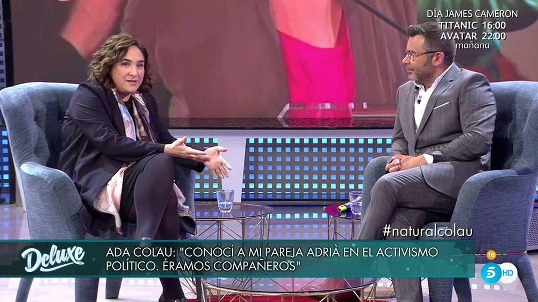 Ada Colau y Jorge Javier Vázquez en 'Sábado Deluxe'.