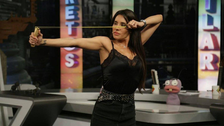 Pilar Rubio, en 'El Hormiguero'. (Antena 3)