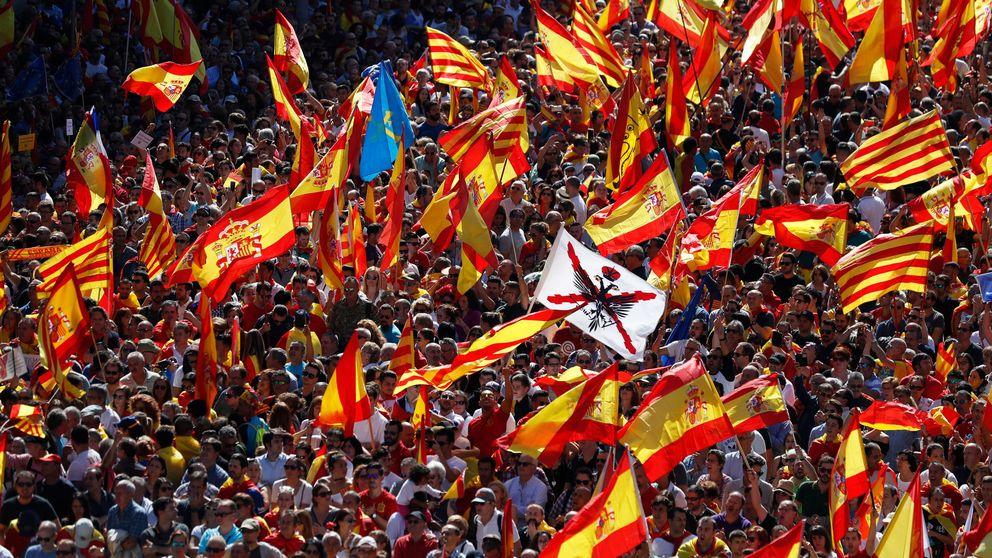 Sociedad Civil habla de un millón asistentes en Barcelona y la Guardia Urbana de 350.000