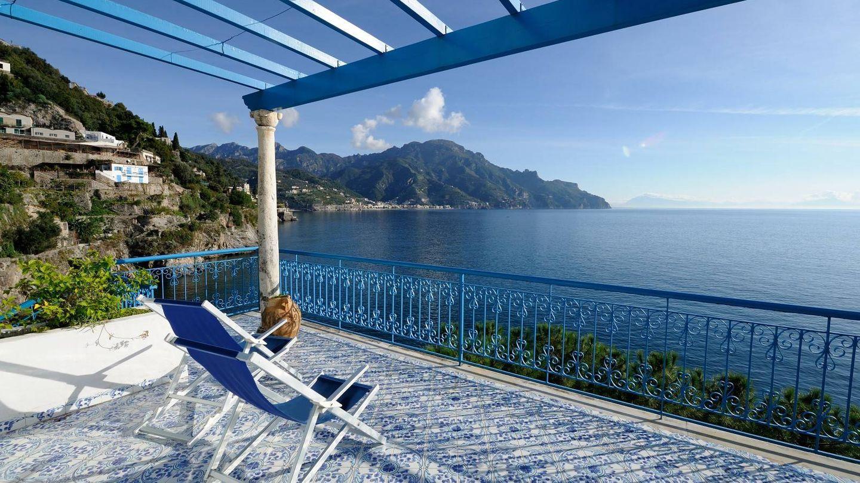 Villa San Michele, un balcón asomado a la Costa Amalfitana.