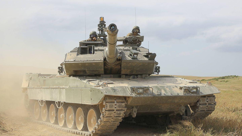Carro de combate Leopardo 2E. Brigada Guadarrama XII. (Juanjo Fernández)
