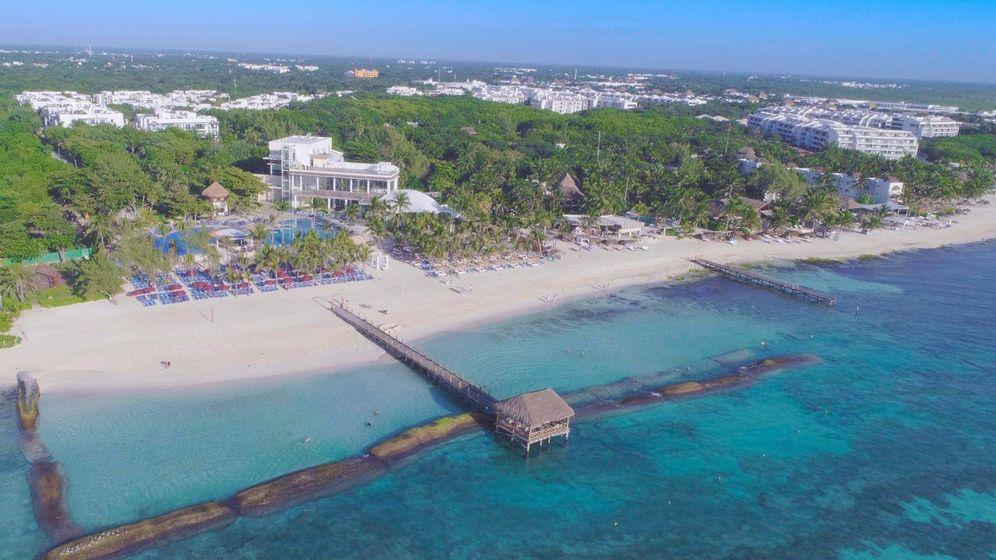 Foto: The Fives, el complejo hotelero y residencial de TM Grupo en la Playa del Carmen (México).