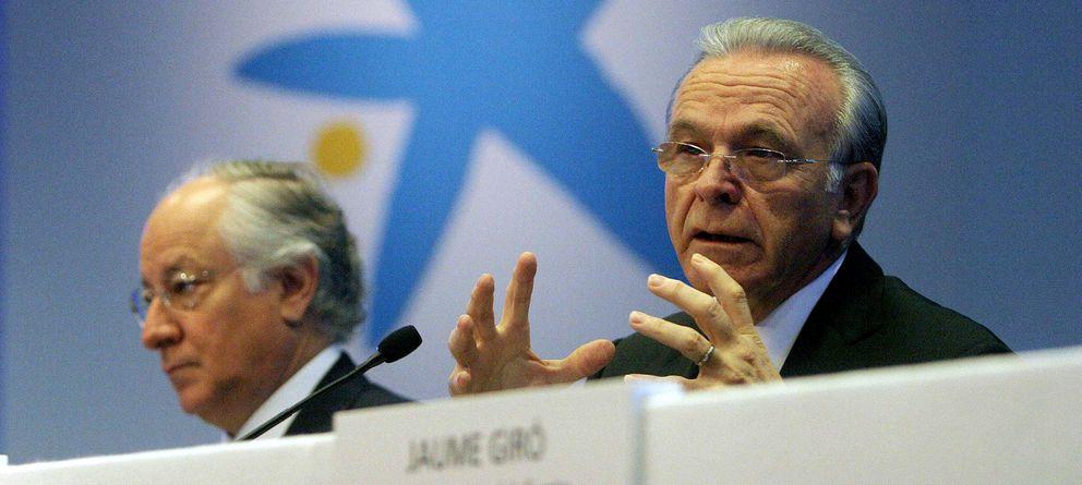 Foto: El presidente de CaixaBank, Isidre Fainé (d), y el consejero delegado, Juan M. Nin. (EFE)