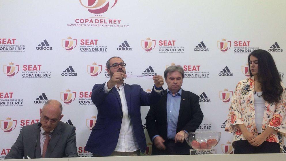La RFEF repite el sorteo de Copa del Rey tras cometer un error