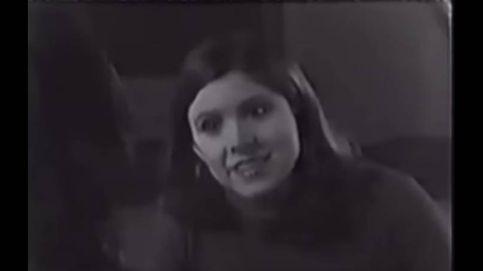 Así fue el casting de Carrie Fisher para el papel de Princesa Leia en 'Star Wars'
