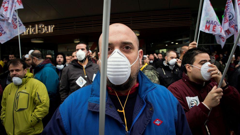 Arrancan los paros en Metro de Madrid en protesta por la gestión ante el amianto