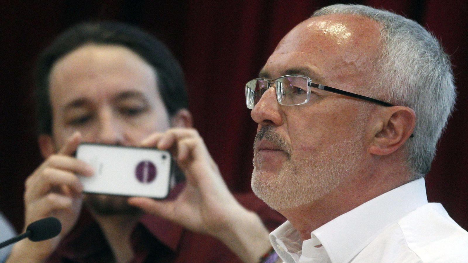 Foto: El líder de Podemos en la Comunidad Valenciana, Antonio Montiel. (EFE)