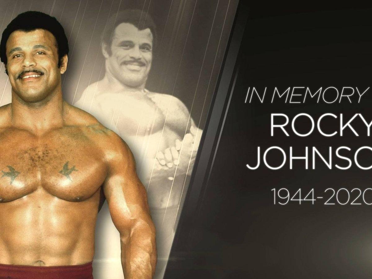 Foto: Rocky Johnson fue un mito de la WWE al convertirse en el primer campeón afroamericano por equipos (Foto: Twitter)