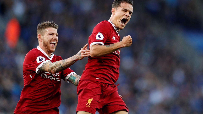 Coutinho vuelve a iluminar al Liverpool. (Reuters)