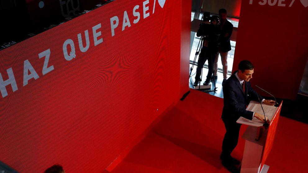 'Haz que pase', el lema del PSOE para llamar a una gran movilización el 28-A