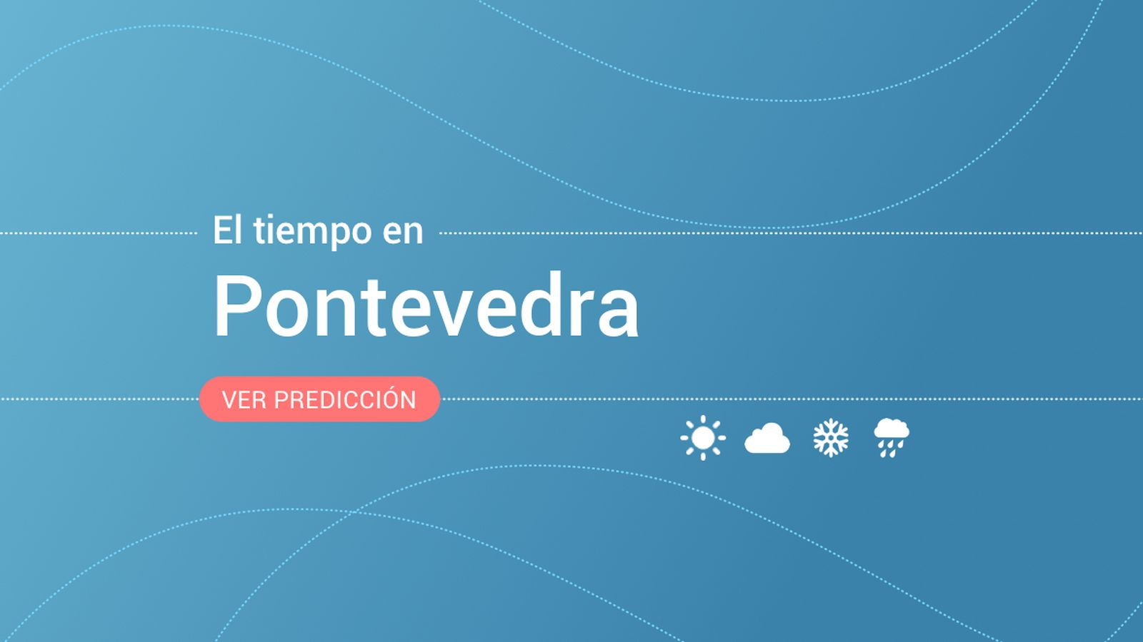 Foto: El tiempo en Pontevedra. (EC)