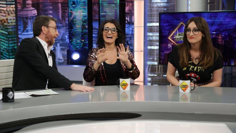 Silvia Abril y Ana Morgade en 'El Hormiguero'. (Atresmedia)