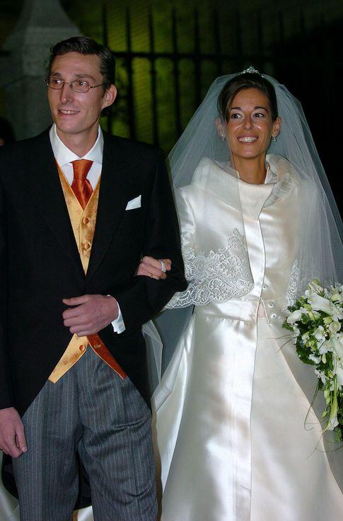Luque y Acebo el día de su boda (Gtres)