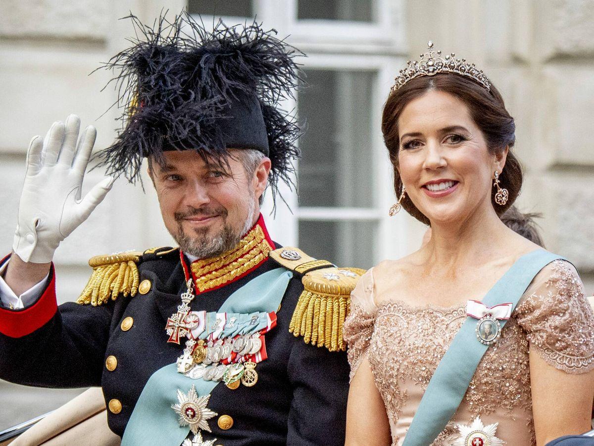 Foto: Federico y Mary de Dinamarca, en una imagen de archivo. (CP)