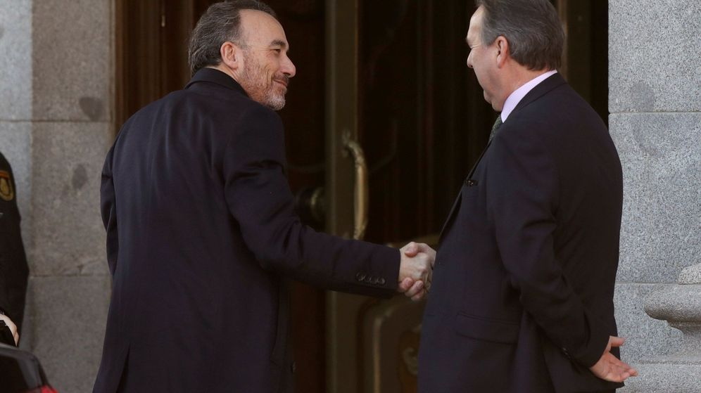 Foto: El magistrado Manuel Marchena, a su llegada al Tribunal Supremo. (EFE)